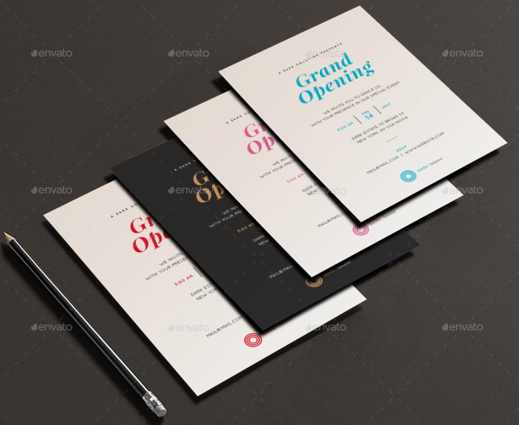 invitation card printing design template 6 amazing invitation card printing design template invitation card printing design - Invitation Card Printing